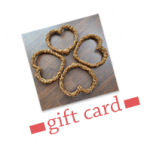 Willow hearts gift card